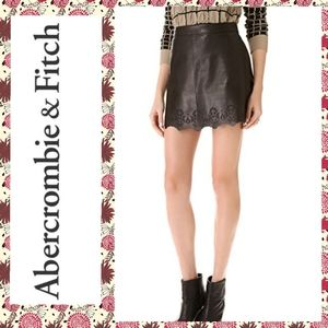 Abercrombie & Fitch vegan leather mini